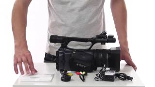обзор видеокамеры Sony DCR VX2200E