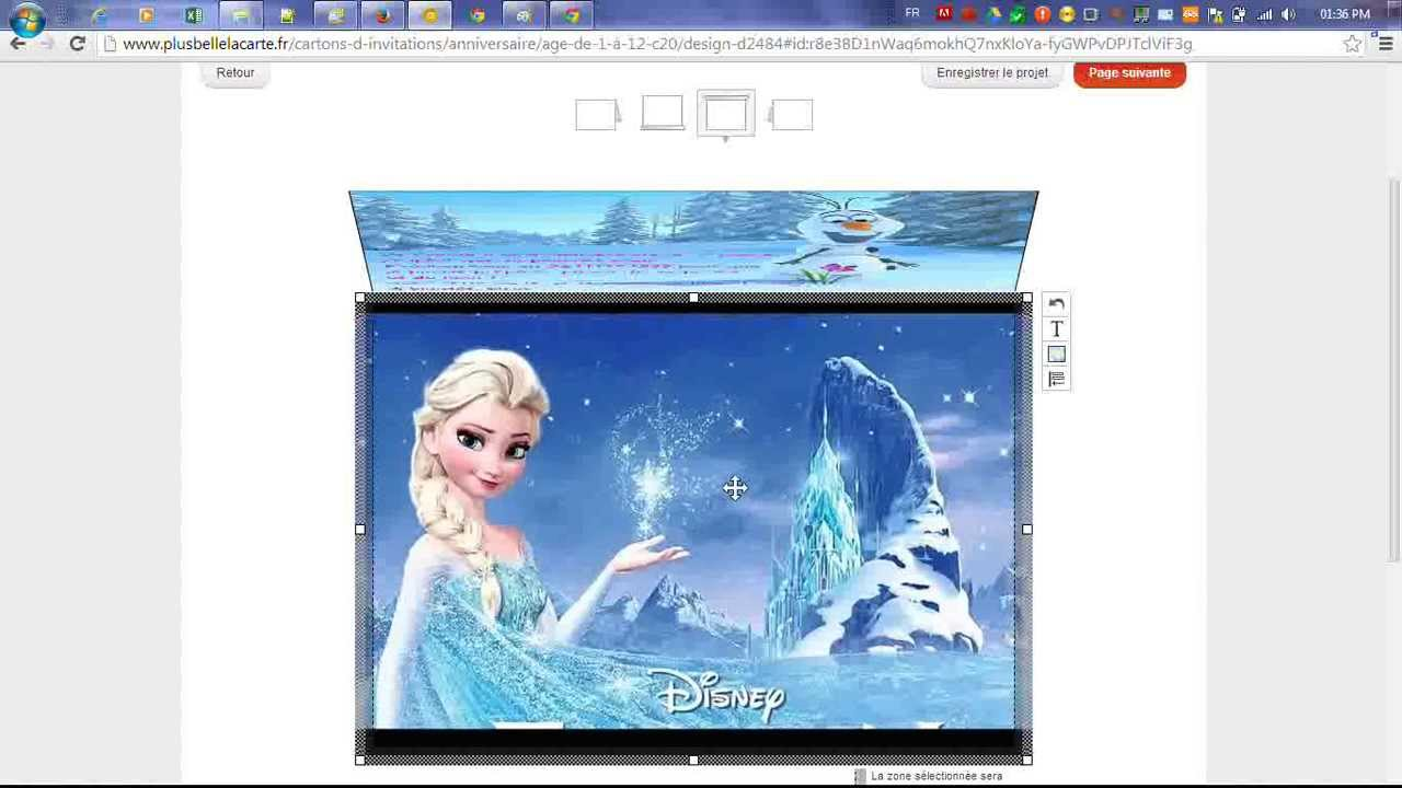 comment faire une carte d 39 anniversaire la reine des neiges youtube. Black Bedroom Furniture Sets. Home Design Ideas