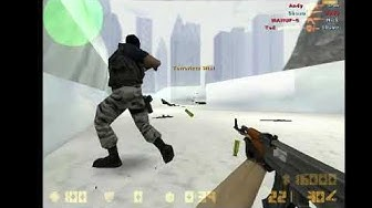 game play de couter strike 1 6