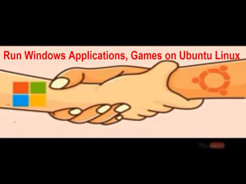 Run Windows Application on Ubuntu Linux - Hindi