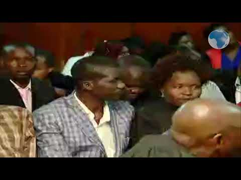 Sharon Otieno's parents in court for Obado's bail ruling