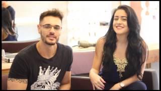 Michely Manuely e Rafael Araújo Hairstylist