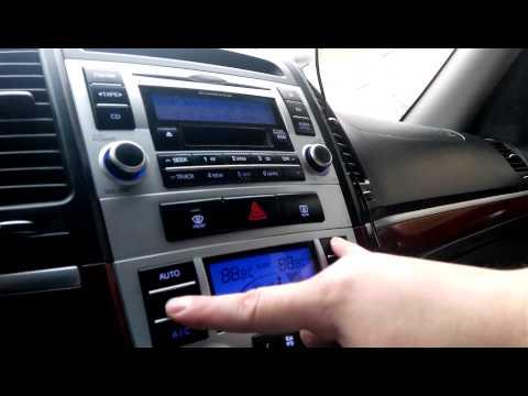 Самодиагностика климатконтроля Hyundai Santa Fe