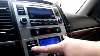 Самодіагностика кліматконтролю Hyundai Santa Fe