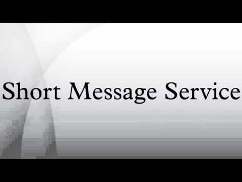 Short Message Service - YouTube