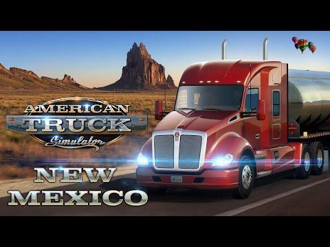 American Truck Simulator New Mexico Dlc Youtube