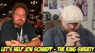 Let's Help Jon Schnepp - The King Sweaty!!!