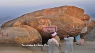 Jabal Tsur Tempat Persembunyian AbuBakar dan Nabi Saat Hijrah