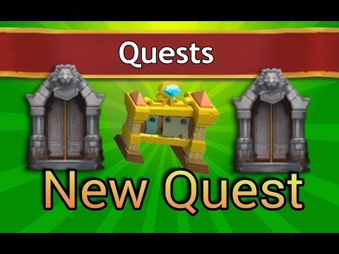 Castle  Clash New Quest!