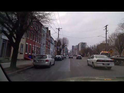 Driving by Harrisburg,Pennsylvania