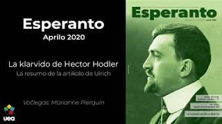 Voĉlegita Esperanto nr-o 4 2020 p. 75 - La klarvido de Hector Hodler