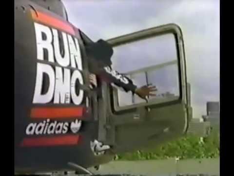 RUN DMC shoe commercial