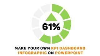 Powerpoint Tutoriel: Faire Votre Propre tableau de bord KPI Infographie!