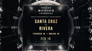 Santa Cruz vs Rivera PREVIEW: February 16, 2019 - PBC on FOX