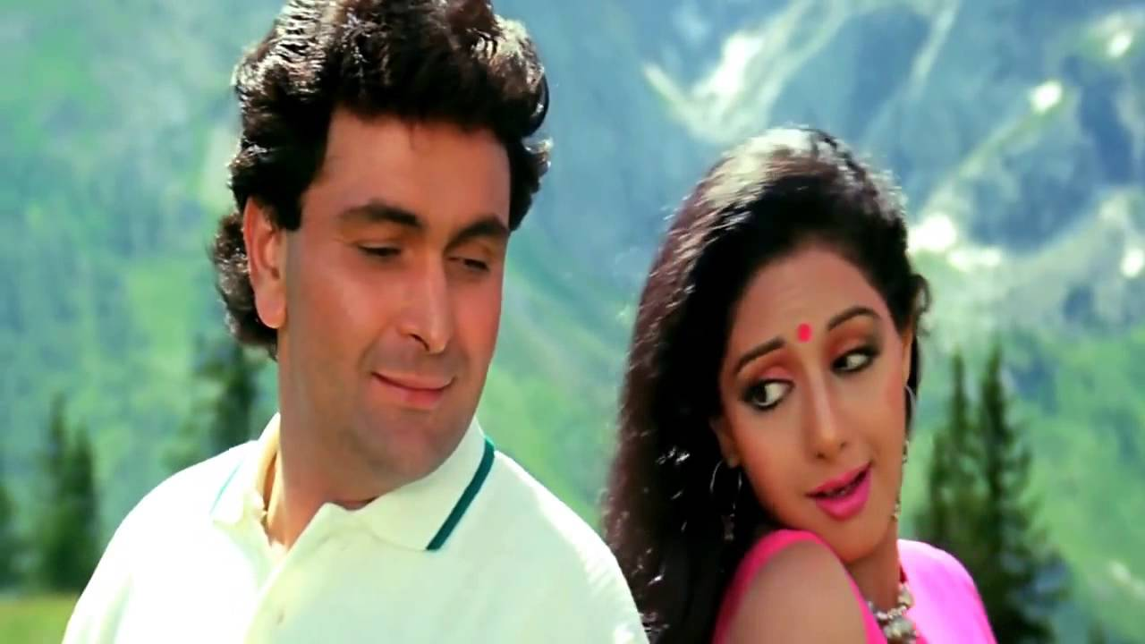 Download Tere Mere Hothon Pe, Mithe Mithe Geet Mitwa   Chandni 1989 HD