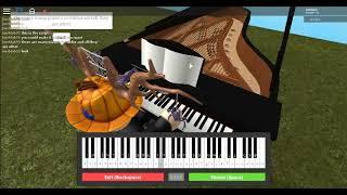 virtual piano roblox tutorial im azul