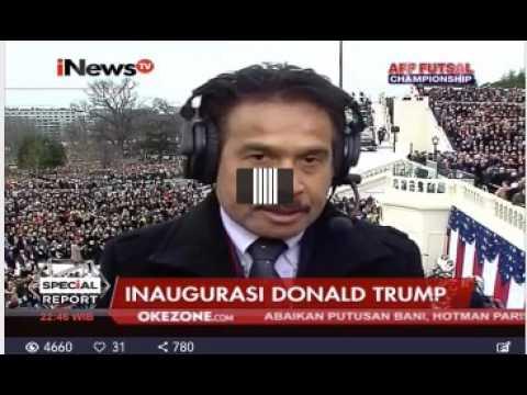 Laporan Langsung VOA Untuk INews TV: Jelang Inaugurasi Trump