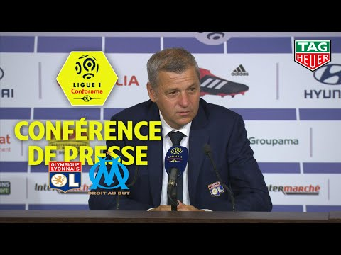 Conférence de presse Olympique Lyonnais - Olympique de Marseille ( 4-2 )  / 2018-19