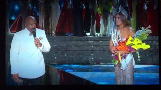 [FULL] Steve Harvey Announces WRONG Winner Miss Universe 2015! Miss Universo