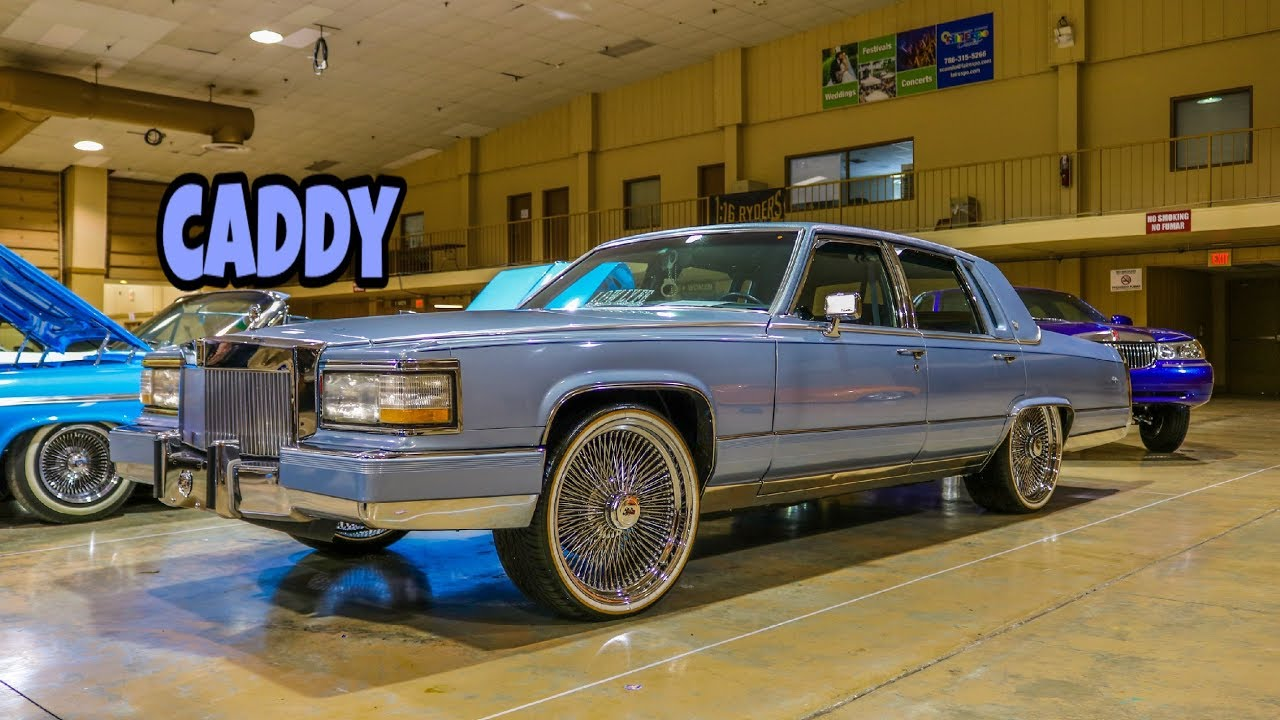 Super Clean Cadillac Slab On Dayton Wire Wheels In Hd Must See Youtube