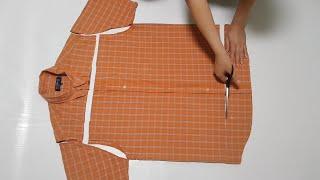 DIY/오래된 셔츠 새롭게 변신/셔츠리폼Old shir…