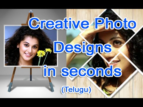 Make Creative Photo Designs in seconds - Free Online Software