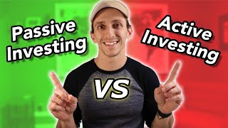 Passive Investing Vs Active | Is Paying A PRO WORTH IT?