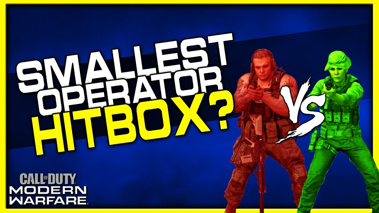 Which Operator Has The Smallest Hitbox In Modern Warfare Are