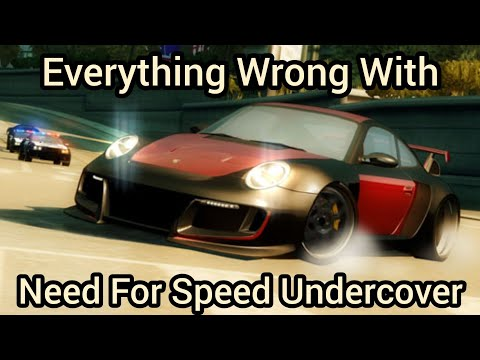 Everything Wrong With Need For Speed Undercover In Being Undercover For 23 Minutes