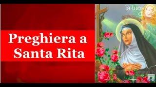 Breve Preghiera a Santa Rita da Cascia.🌹