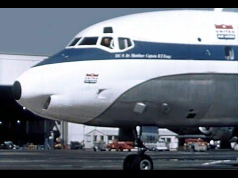 United Douglas DC-8 Promo Film - 1959
