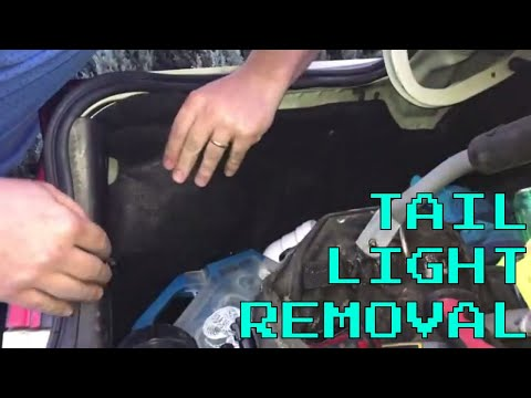 how to remove tail lights (VY-VZ Series Holden)