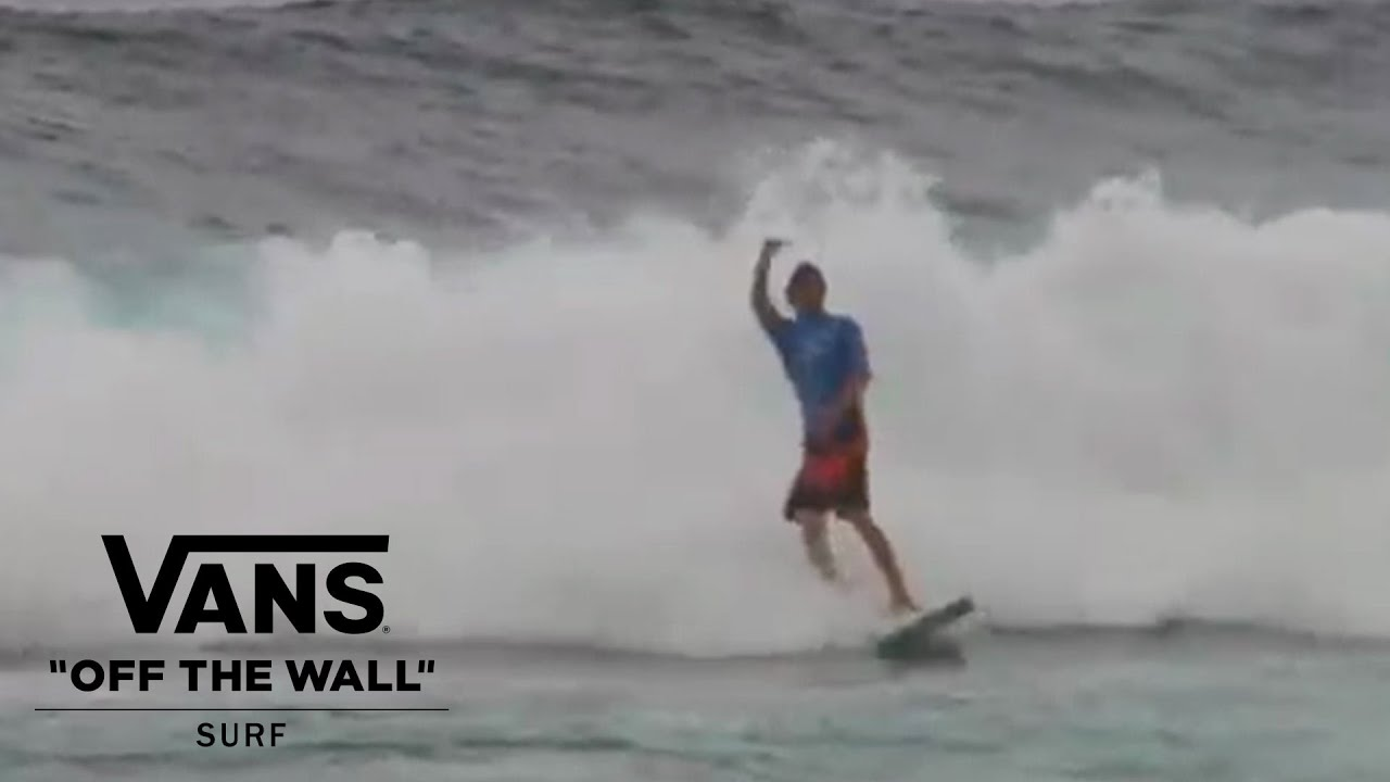 Dylan Graves Blows Up In Puerto Rico Surf Vans Youtube