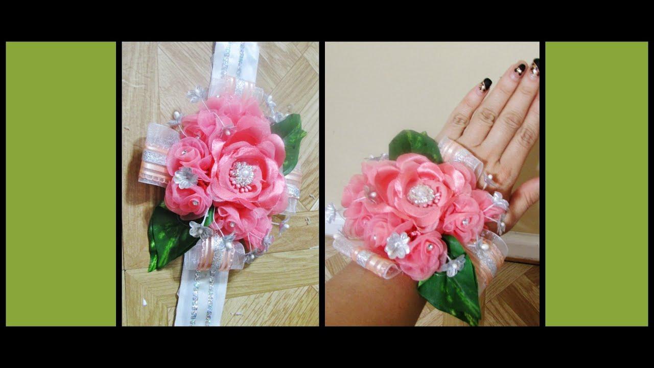 D.I.Y..How To Make a Prom Corsage.,Como Hacer Un Corsage Para Prom ...