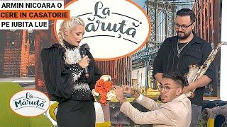 Armin Nicoara o cere in casatorie pe iubita lui, Claudia Puican!