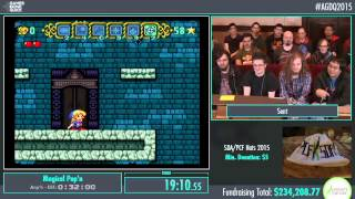 Awesome Games Done Quick 2015 - Part 57 - Magical Pop'n by Sent