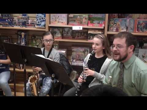 Menlo Park Terrace Band at Barnes & Noble 3.20.17