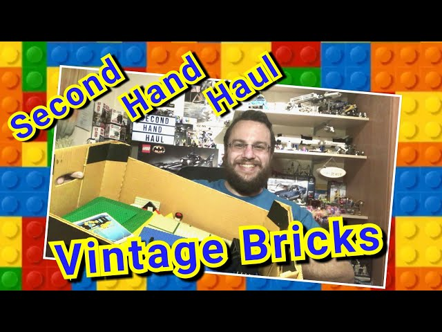 VINTAGE BRICKS Second Hand Haul – There could be some complete sets inside  :-)