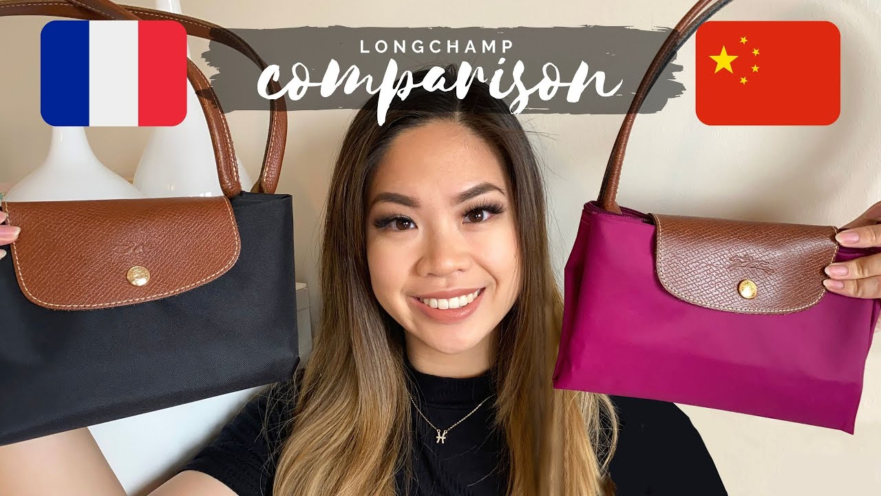 LONGCHAMP MADE IN CHINA & FRANCE | COMPARISON