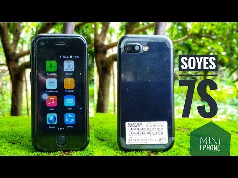 Soyes 7s card shape android PHOne. Mini IPHONE!!😁😁😜😜