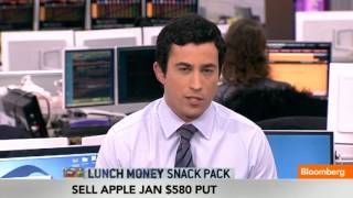 Snack Pack: Pound, Sell Apple Put, Stocks