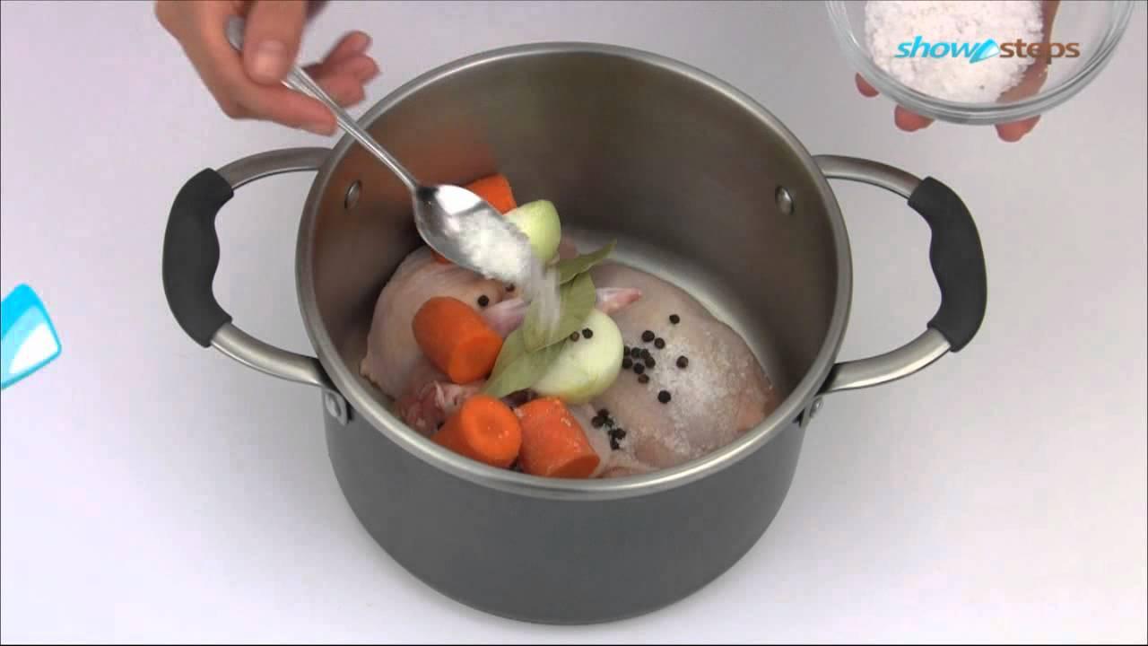 Как приготовить бульон из курицы
