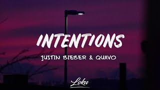 Download song Justin Bieber - Intentions (Lyrics) ft. QUAVO