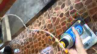How to Refill Butane canister from LPG