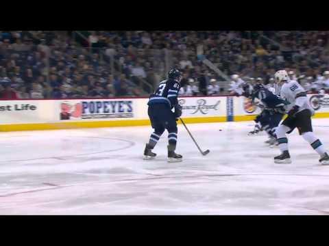 San Jose Sharks vs Winnipeg Jets 05.01.2015