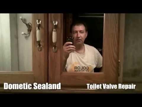 Toilet Repair Youtube Rv Toilet Repair