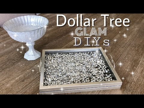 Dollar Tree DIY Ideas | DIY Serving Tray | DIY Candy Dish