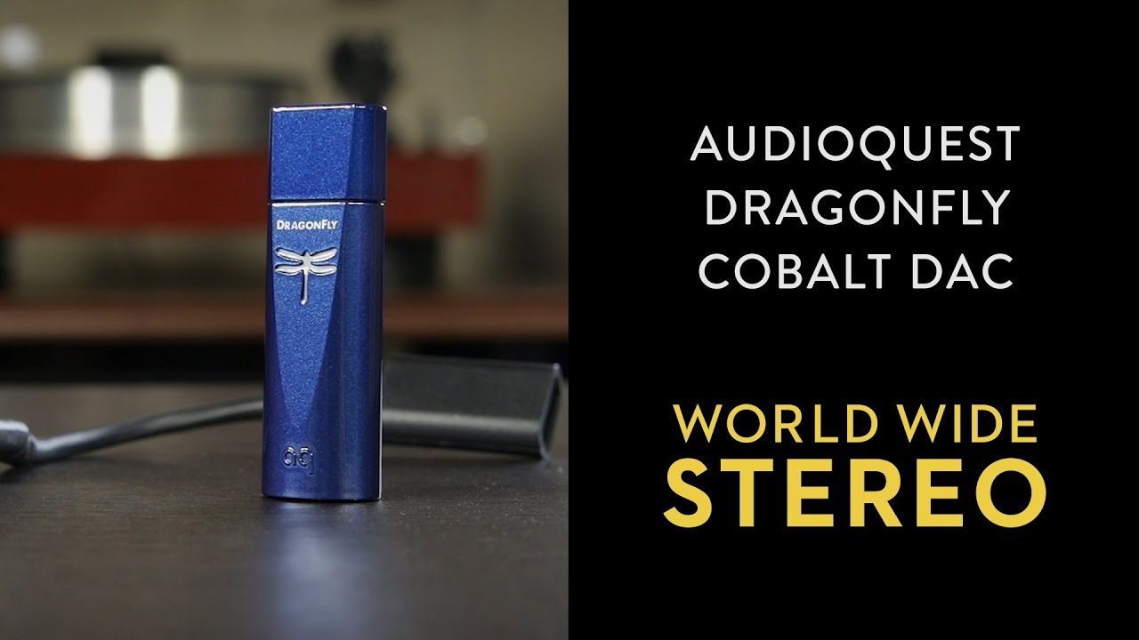 Review: AudioQuest DragonFly Cobalt USB DAC Headphone Amplifier