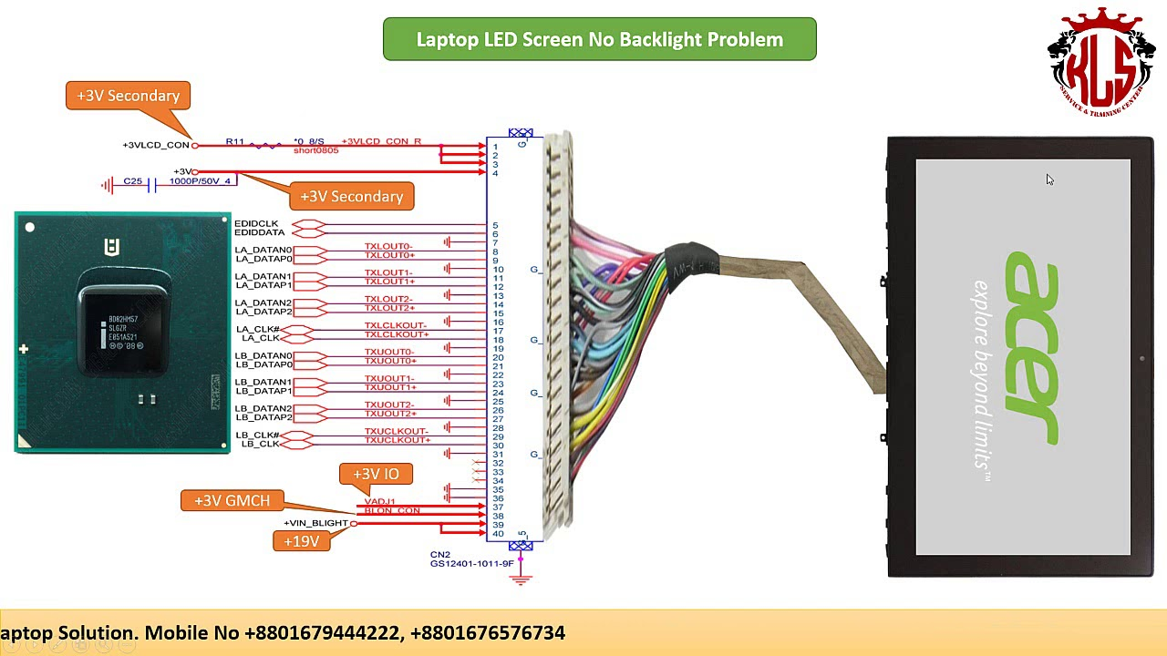medium resolution of laptop lcd diagram