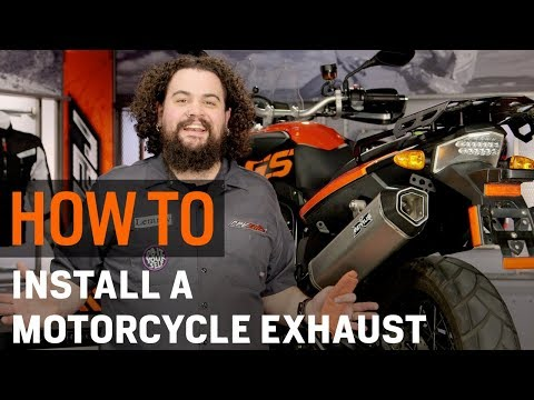 Thumbnail for How To Install a Motorcycle Exhaust